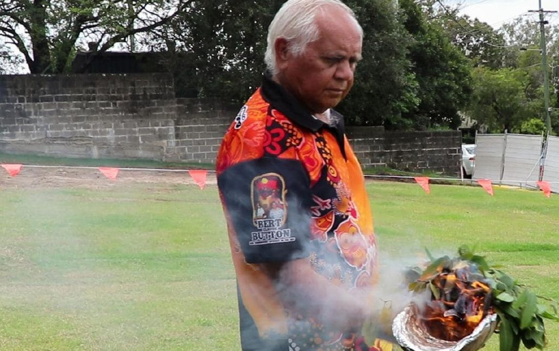 smoking cleansing ceremony